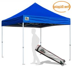 Heavy Duty 10X10 Ez Pop Up Canopy Instant Shade Commercial T