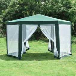 Hexagonal Patio Gazebo Outdoor Canopy Party Tent Event with