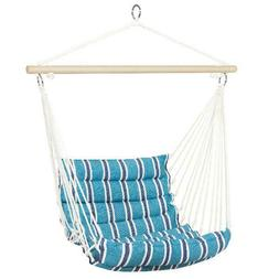 Best Choice Products Indoor Outdoor Padded Hanging Cotton Ha