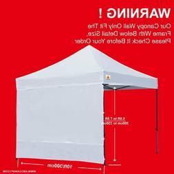 ABCCANOPY Instant Canopy SunWall,10x10 Feet, 10x20 Feet Stra