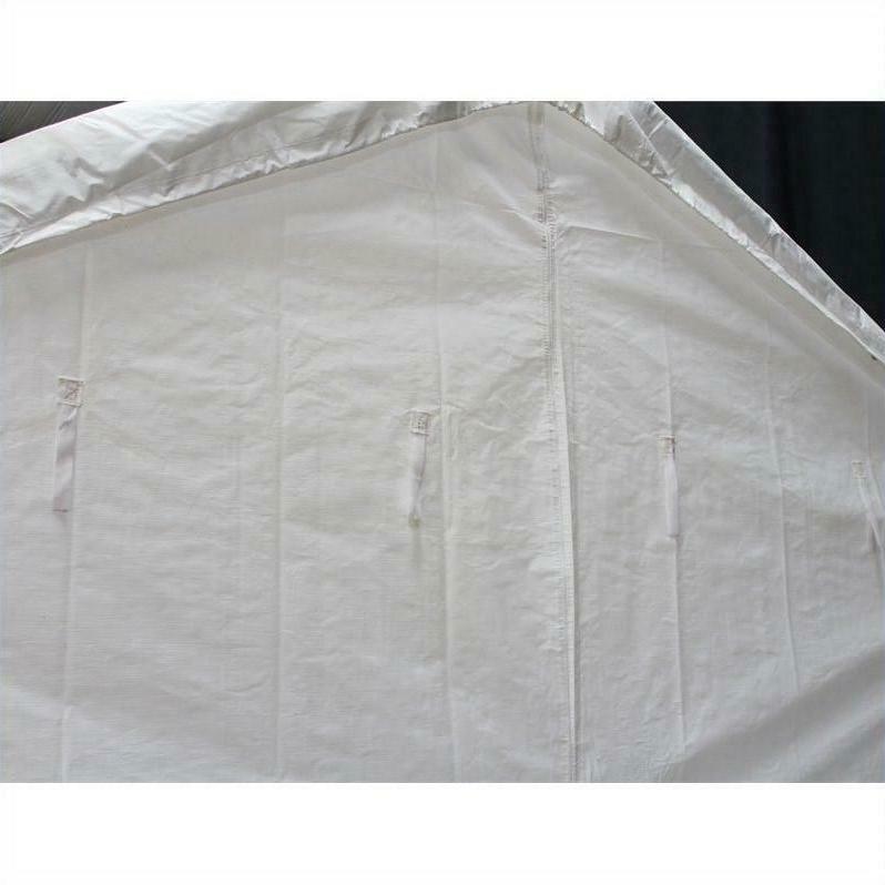 King X 20 Ft Carport Canopy Sidewall Kit Windows