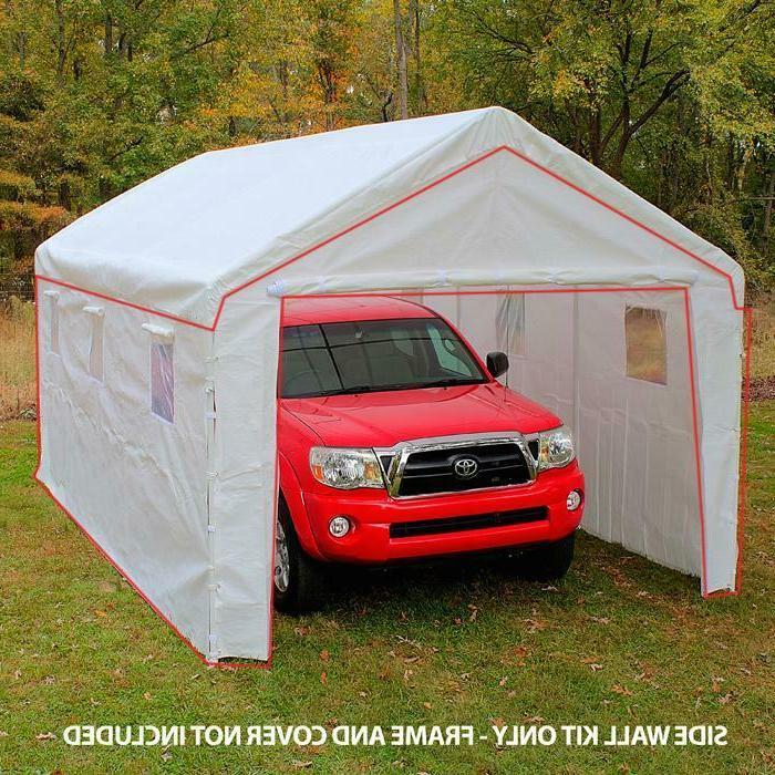 10 ft x 20 ft carport canopy