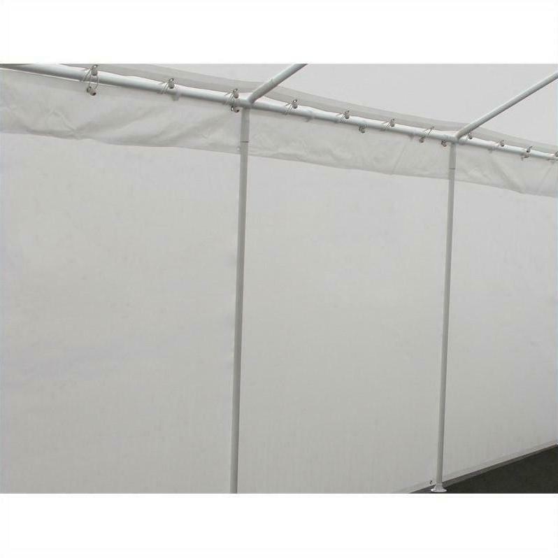 King X 20 Ft Carport Canopy Kit Windows