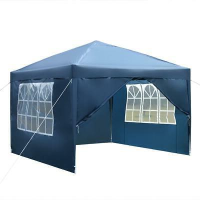 10'x Pop UP Outdoor Canopy Gazebo Wedding