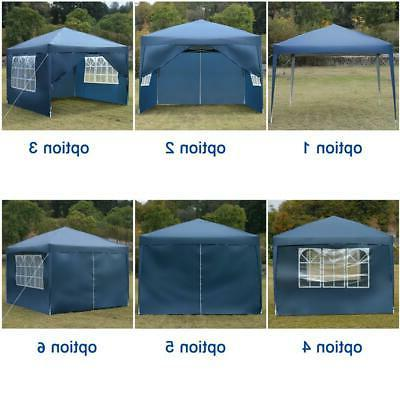 10'x 10' Pop UP Tent Outdoor Canopy Folding Gazebo Wedding Canopy