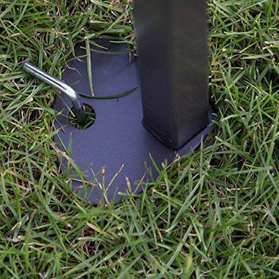Abba 10-Feet Outdoor Pop Portable Shade Canopy