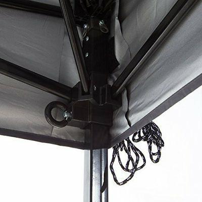 Abba Patio 10 10-Feet Portable Instant Folding Canopy