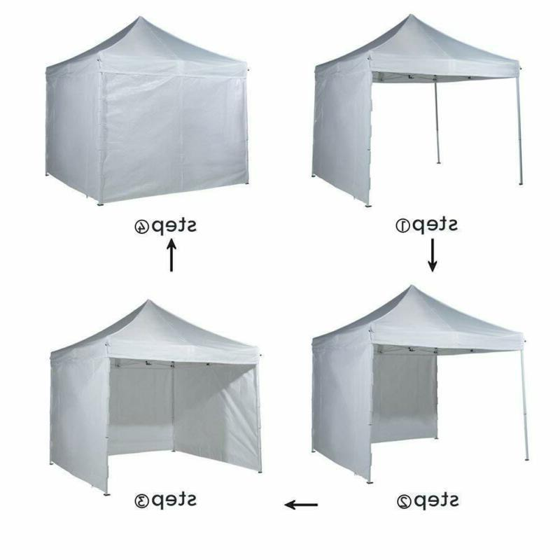 10 Pop Up Heavy Instant Portable Canopy Wit