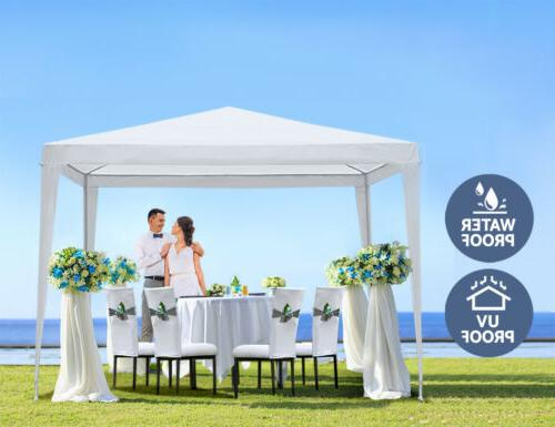 10' x 10' Canopy Party Tent Events Wedding 4 Side