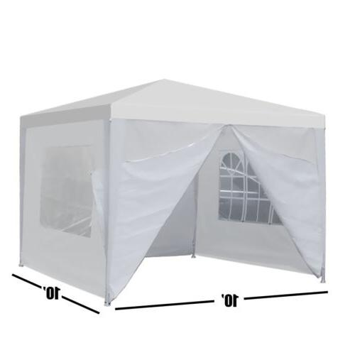"Heavy Duty Canopy Party 10""x10"" Outdoor Wedding Tent Gazebo"