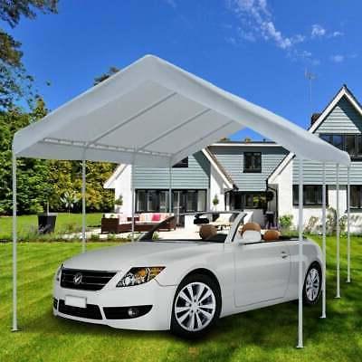 """Abba Patio 10 20"""" white canopy 10 x"""