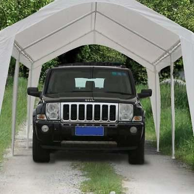 20 feet Carport White