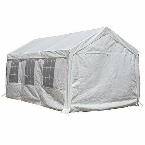 20-Feet Duty Car Shelter Windows