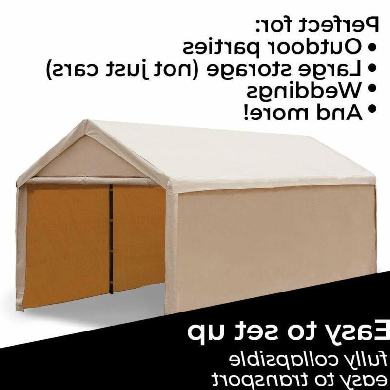 Abba 20 Ft Beige Versatile Shelter