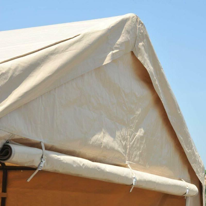 Abba Patio 10 20 Ft Beige Versatile Shelter