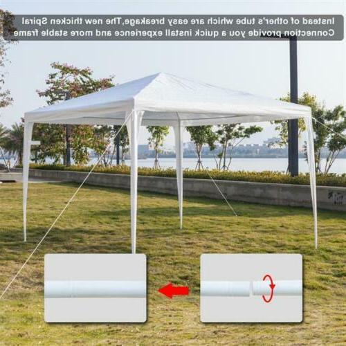 10' X 20' Heavy Duty Canopy Garage Tent Steel