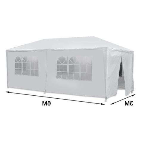 10 20 Wedding Party Tent with Removable White