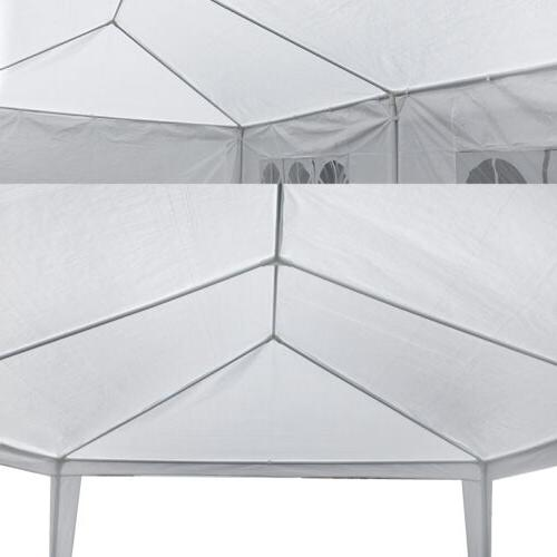 10' Canopy Event Tent With BBQ