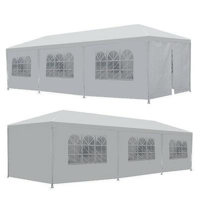 10' x 30' BBQ Gazebo Canopy Event Wedding Party Outdoor Tent