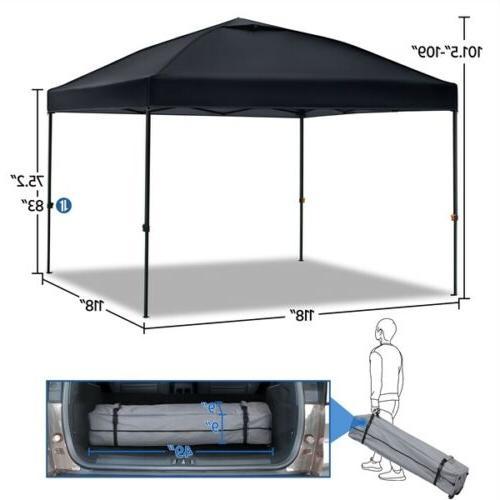 10'x10' Commercial Pop Gazebo Party Quick Folding Tent