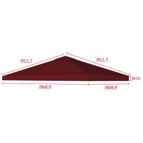 10x10' Outdoor Gazebo Top Tent Cover Up Sunshade 2
