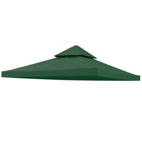 10x10' Outdoor Gazebo Tent Cover Sunshade 2 Tier