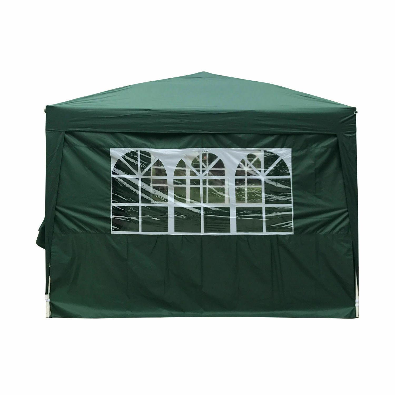 10'x10' Pop UP Tent Wedding Folding Gazebo Heavy Carry
