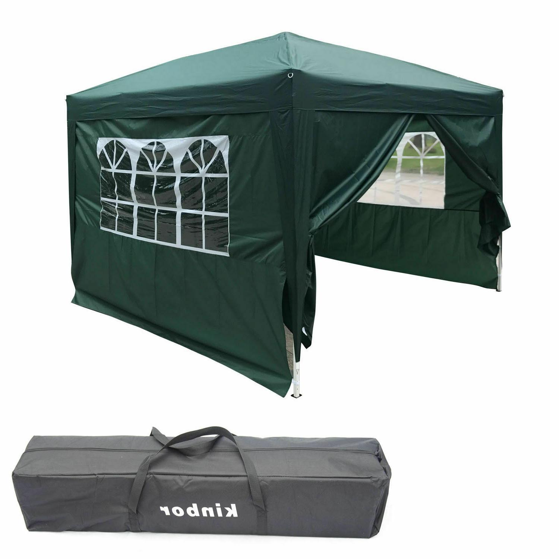 10'x10' Pop Tent Wedding Party Gazebo Duty Carry