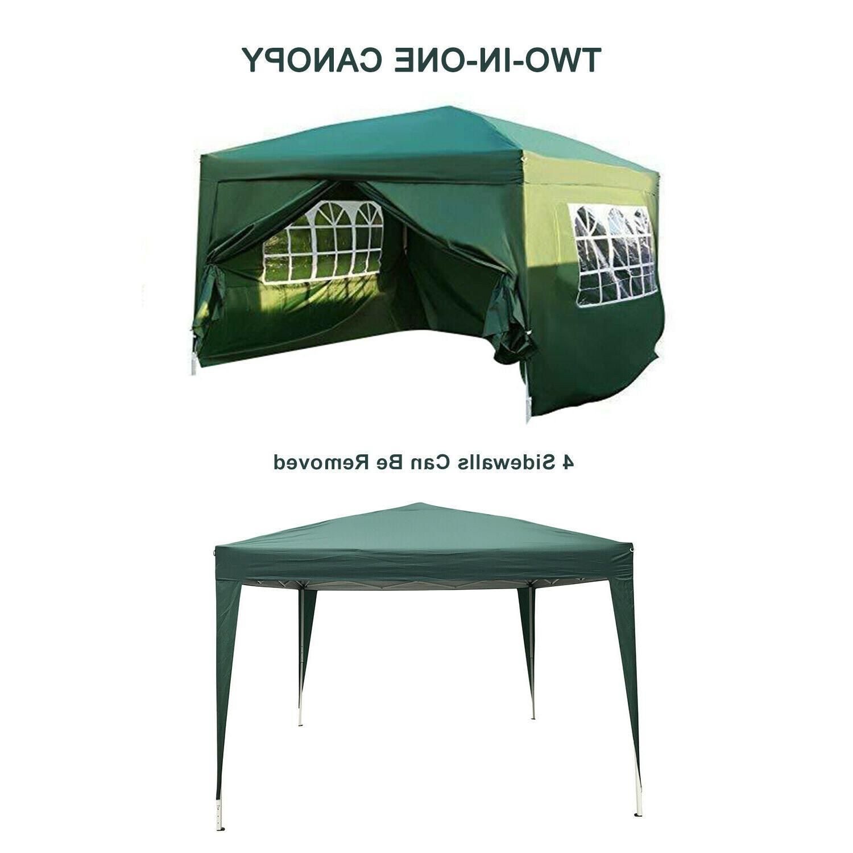 10'x10' Pop UP Tent Wedding Gazebo Heavy Carry Bag