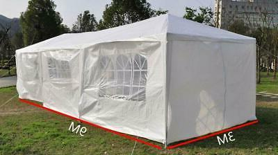 10'x20'/30' Party Outdoor Heavy Duty Pavilion Event White