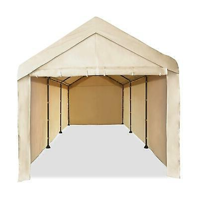 10'X20' Garage Tent Car Shelter Sidewall Kit Canopy Cover