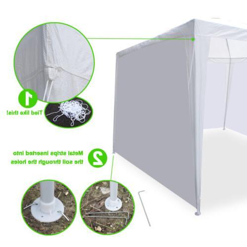 10'x20' Outdoor Patio Tent duty Gazebo Pavilion Event