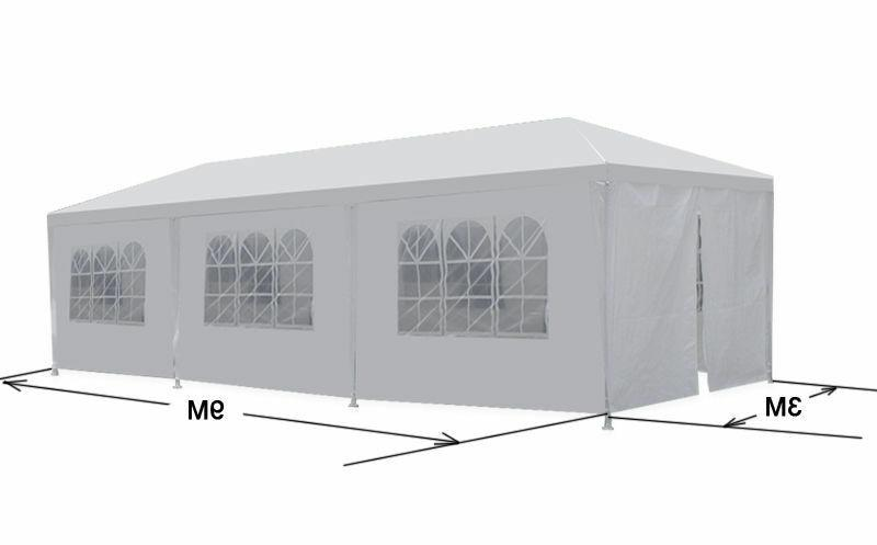 10'x30' Gazebo Canopy Party Tent  Wedding Pavilion Cater BBQ