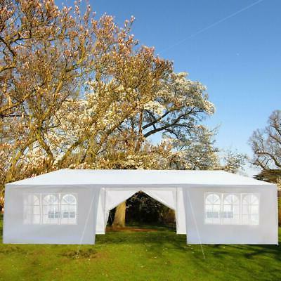10'x30' Upgrade Spiral Tube Canopy Party Wedding Tent Gazebo