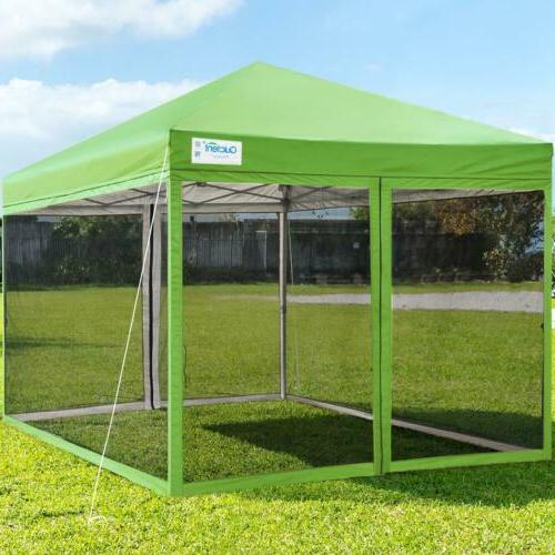 Quictent Pop Up Canopy 10x10/8x8 Outdoor Patio Shelter Gazebo