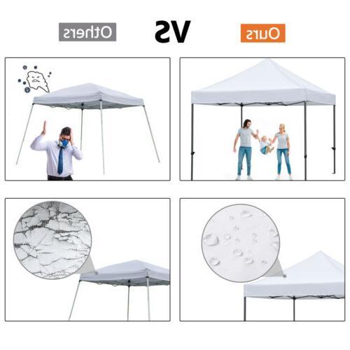 10x10' Pop Canopy Party Waterproof Gazebo