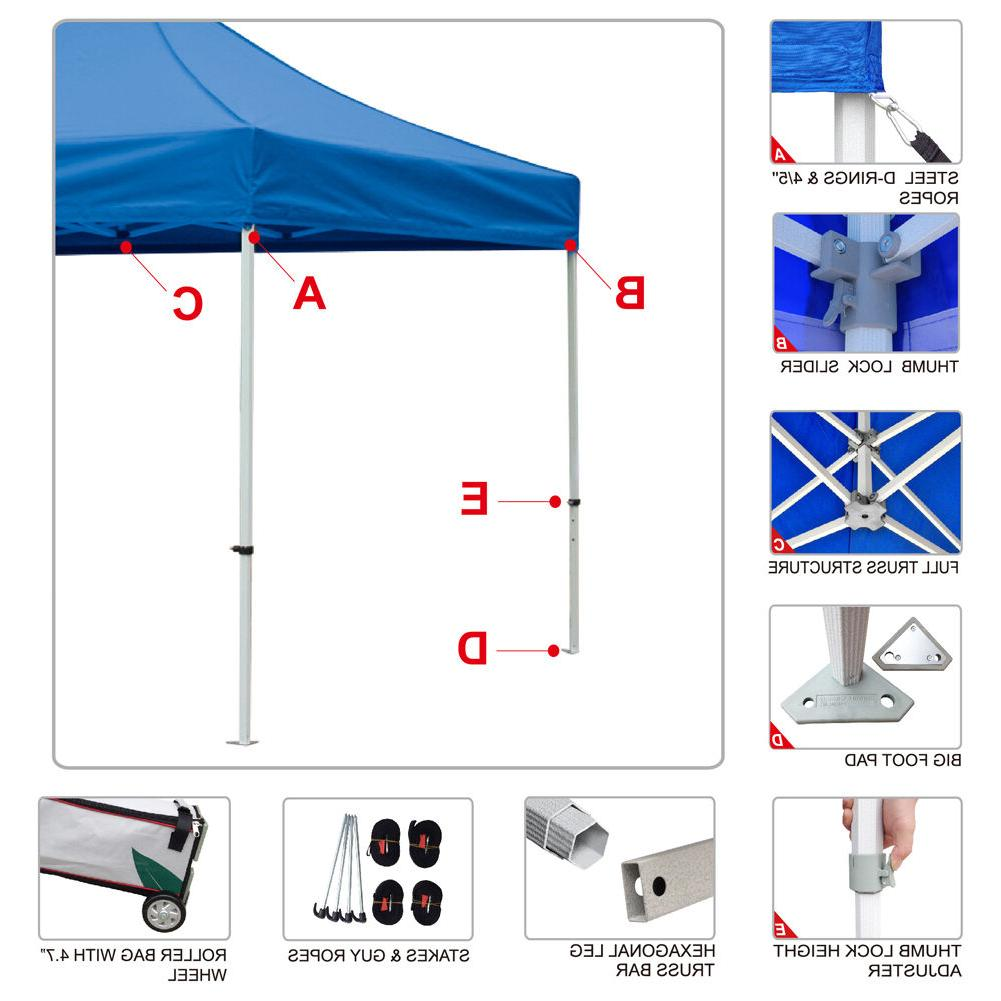 Pop Canopy Commercial Vendor Booth Tent