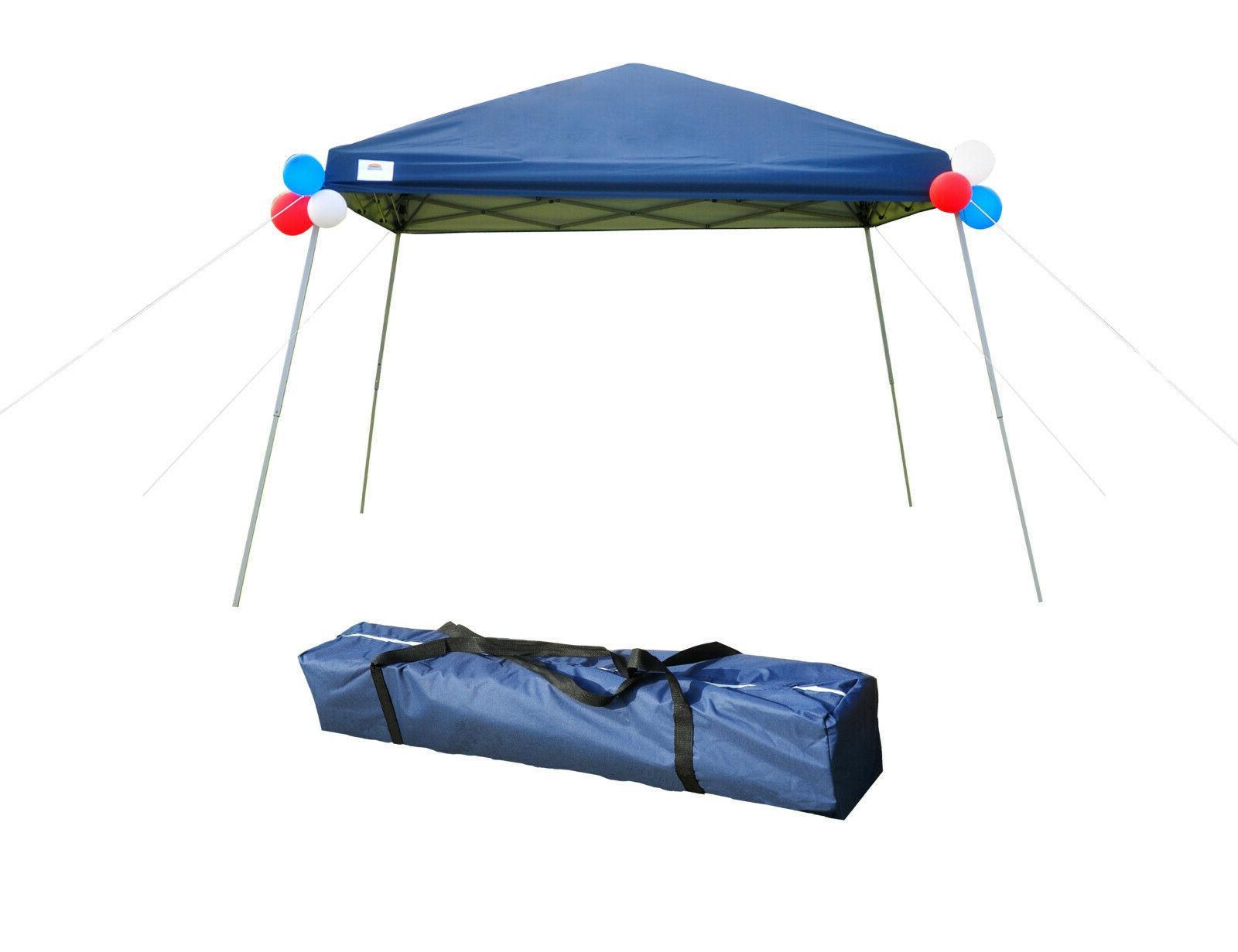 10x10 Heavy Duty Canopy EZ Pop Up Canopy Wedding Party Tent