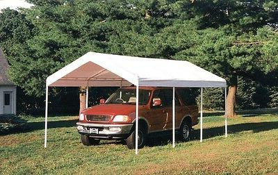 10x20x9'6 ShelterLogic Replacement Top Cover 1