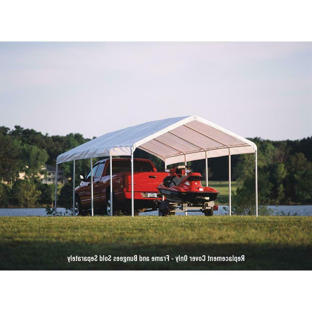 ShelterLogic 12 x ft. Canopy Replacement Cover for White