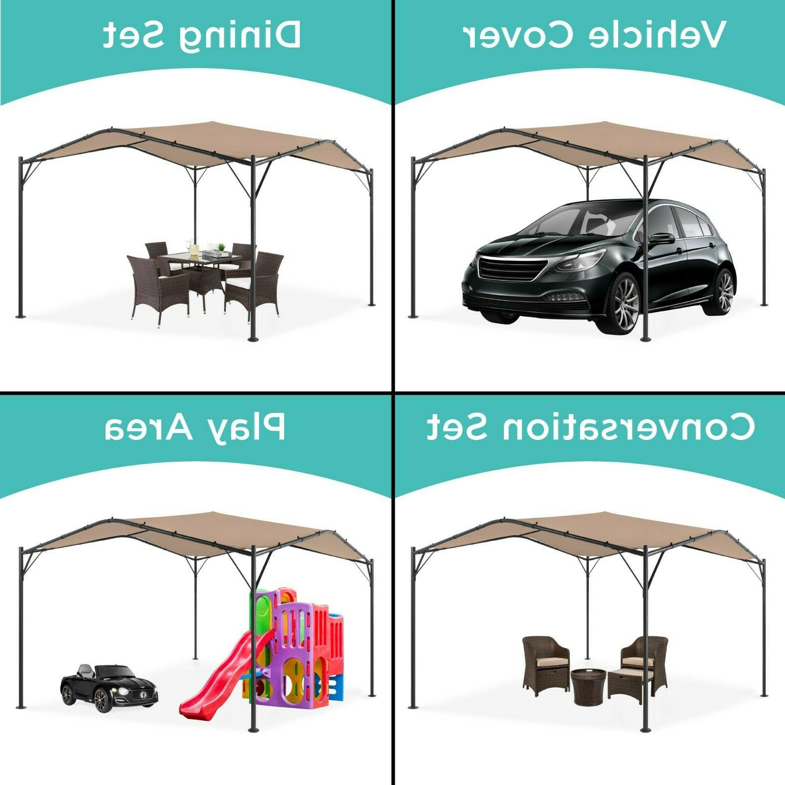 Best Choice Products Gazebo Canopy for Patio, Backyard