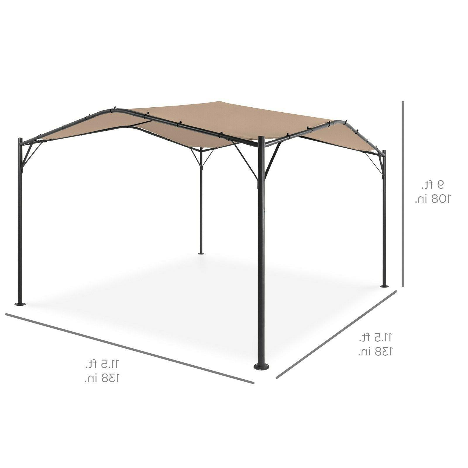Best Choice Products 12x12ft Gazebo Canopy Backyard Bags