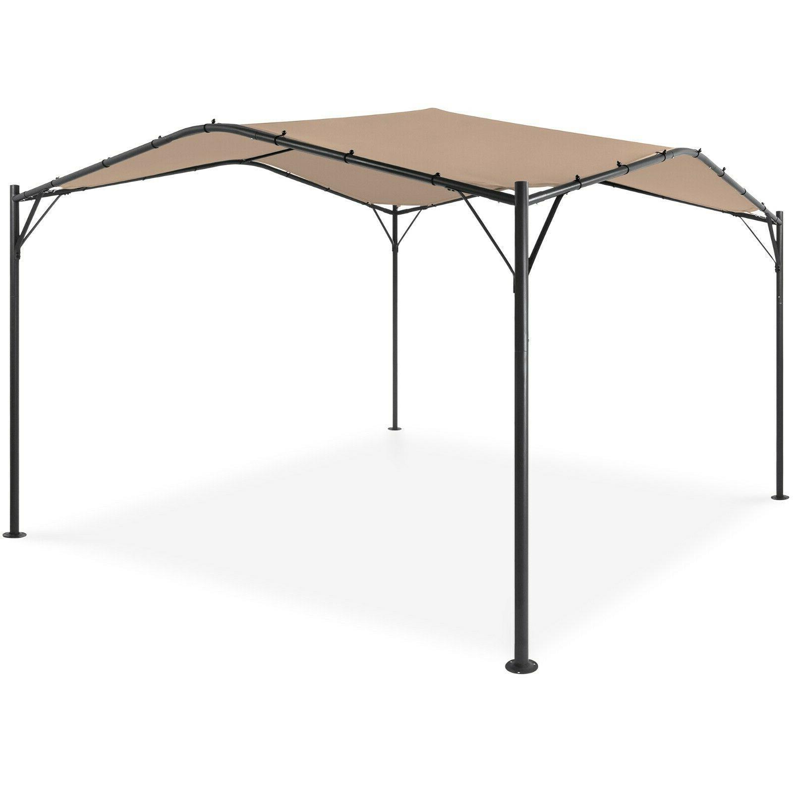12x12ft gazebo canopy for patio backyard w