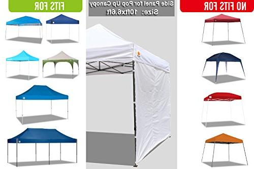 ABCCANOPY Instant Canopy for 10x10 Feet Leg up Canopy, 1 Sidewall