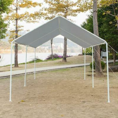 Quictent Grey Heavy Garage Carport Awnings Canopy FT
