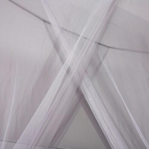 Gray Corner Post Mosquito Canopy