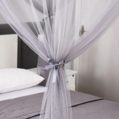 Gray 4 Mosquito Canopy Outdoor