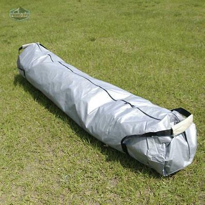 80 inch canopy bag silver w handles