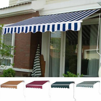 9 8 x8 2 manual patio canopy
