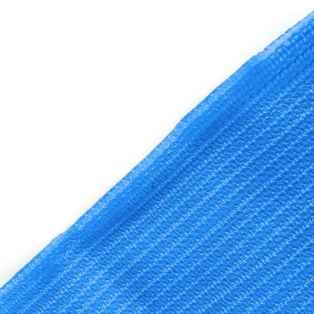 Shatex Blue Color SunBlock Shade Cloth for Yard Size